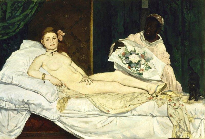 Musea en storytelling: Olympia van Manet.