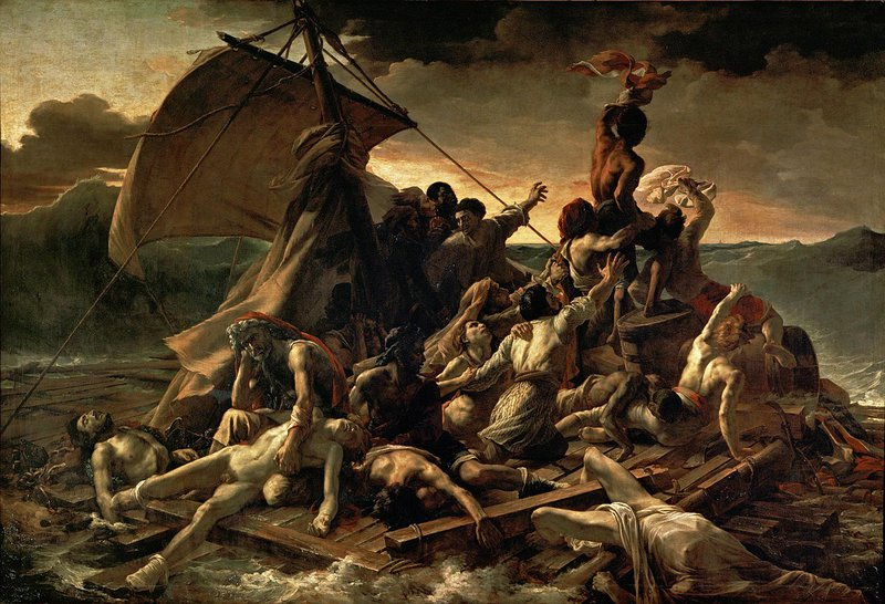 Musea en storytelling: Het vlot van de Medusa van Géricault.
