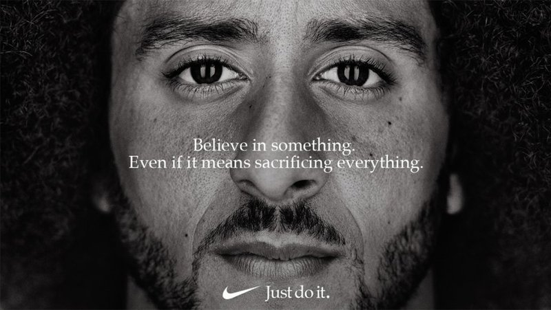 3 klassieke fouten in storytelling. Nike-campagne Colin Kaepernick.