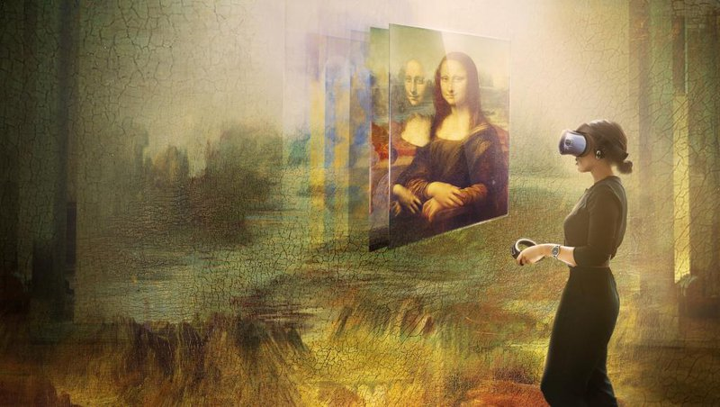 Immersieve storytelling: Mona Lisa.