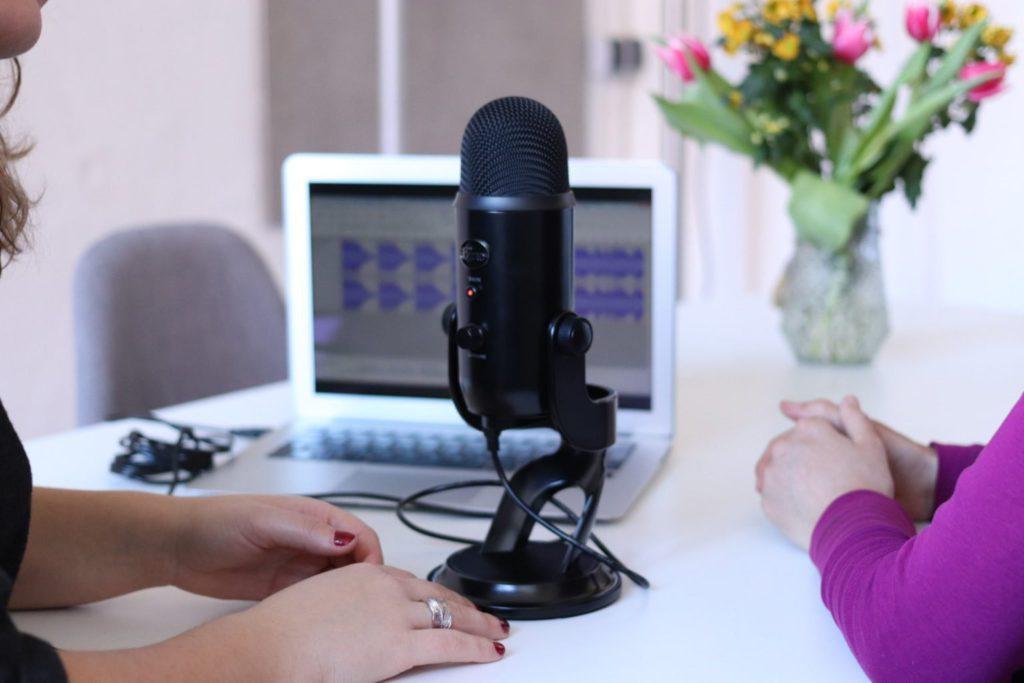 zelf een podcast opnemen