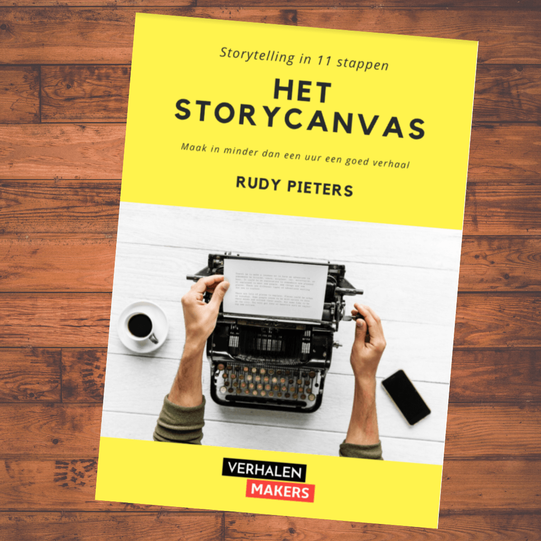 Gratis e-book over storytelling met het  storycanvas